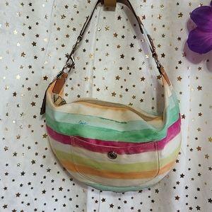 Coach Hampton water color Hobo Bag